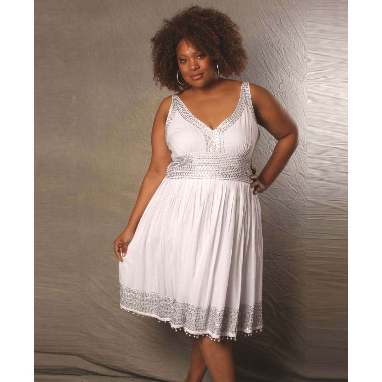 White Dresses For Graduation Plus Size : Spring Style ...