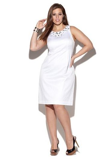 White Dresses For Graduation Plus Size : Spring Style