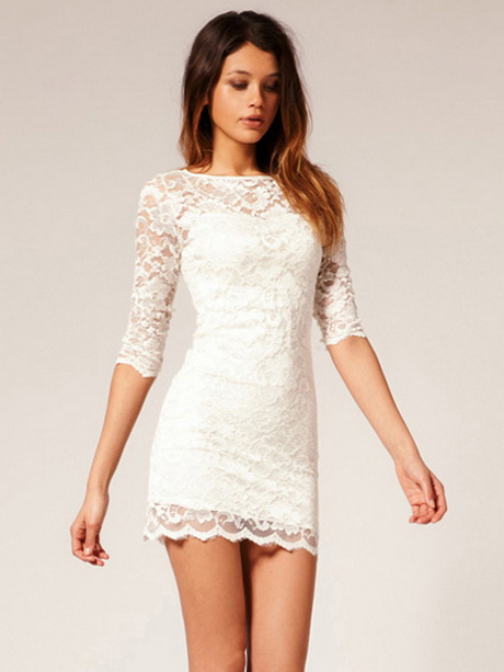 White Long Sleeve Lace Gown Simple Guide To Choosing
