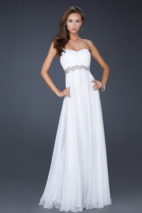 White Sparkly Dress Long & Guide Of Selecting - Dresses Ask
