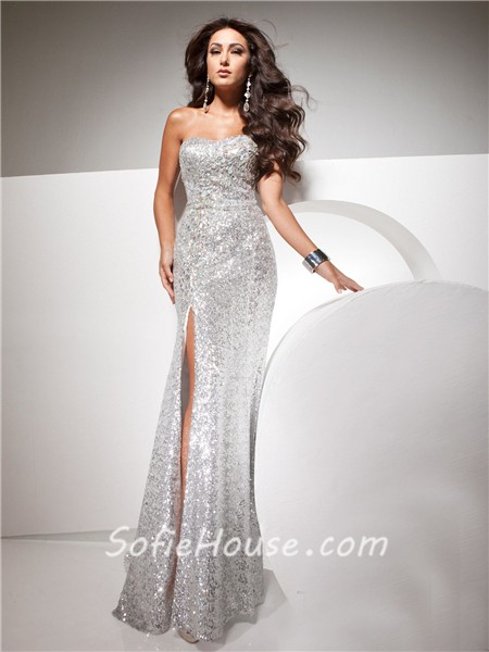 White Sparkly Dress Long Amp Guide Of Selecting Dresses Ask
