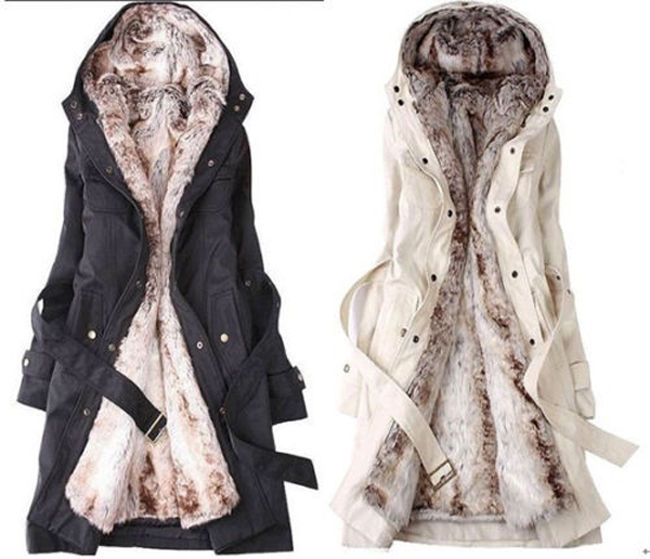 Women S Plus Size Winter Coats With Hood - Tradingbasis