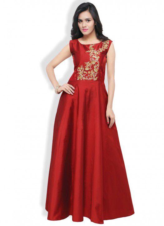 red silk dress long - Dresses Ask