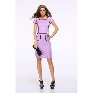 Short Tight Maxi Dress