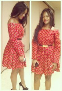 short gown styles for ankara