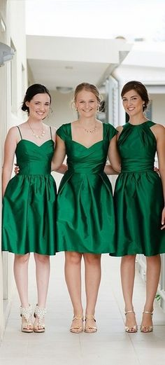 Emerald Green And Gold Bridesmaid Dresses And Oscar Fashion Review