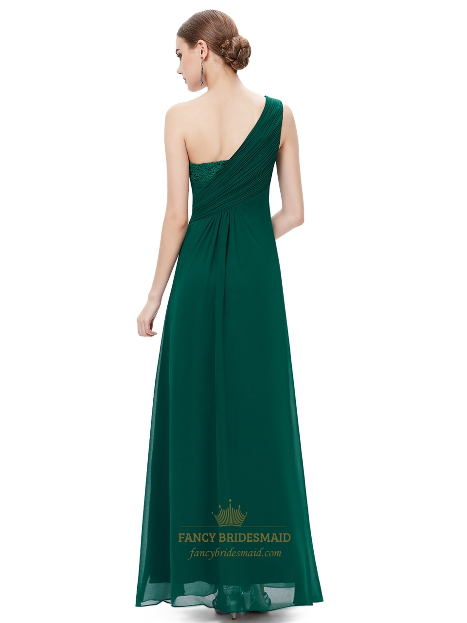 Emerald Green One Shoulder Dress And Simple Guide To Choosing