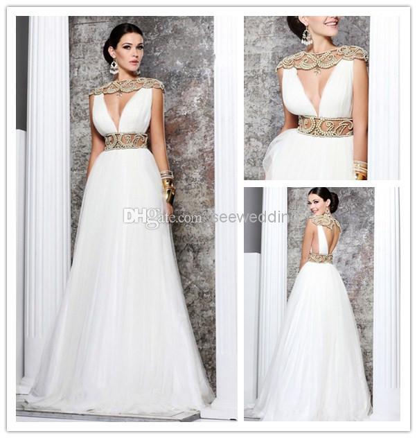 Long White Grecian Dresses Fn83 Advancedmassagebysara
