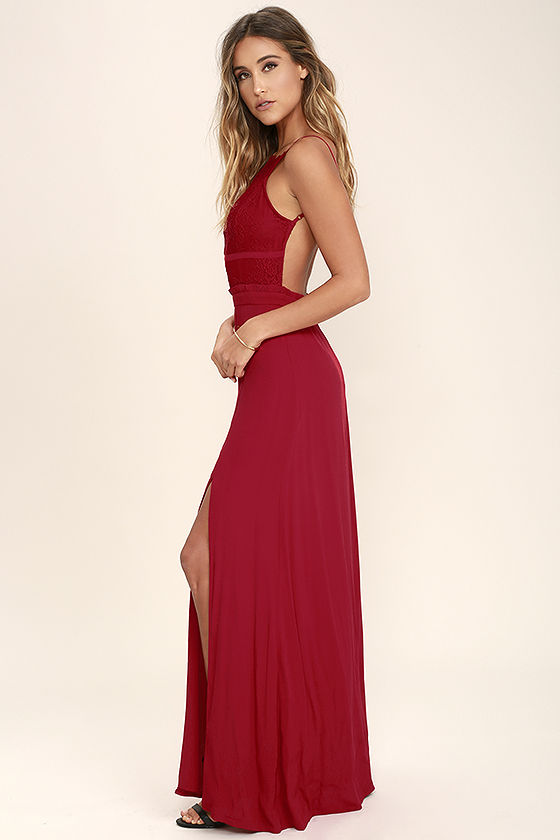 Lace Backless Maxi Dress : Simple Guide To Choosing