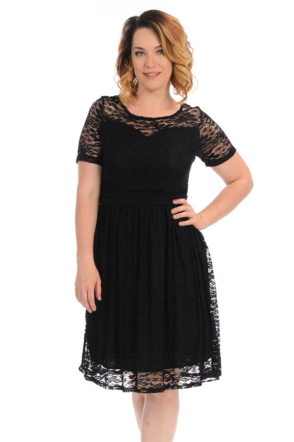 Lace Midi Dress Plus Size - Trends For Fall