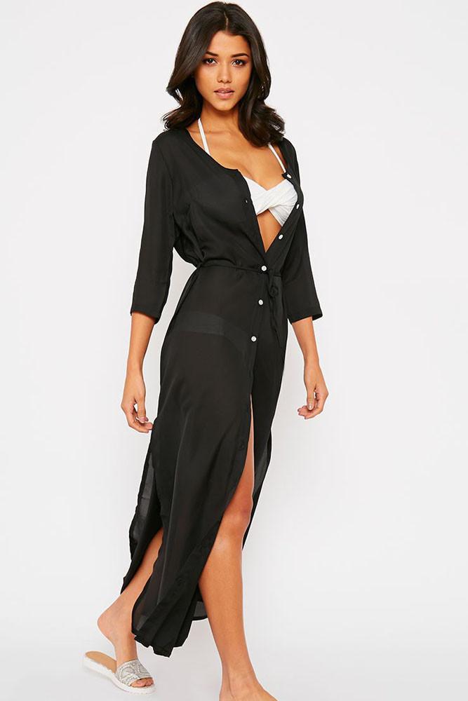 Long Shirt Maxi Dress : Be Beautiful And Chic