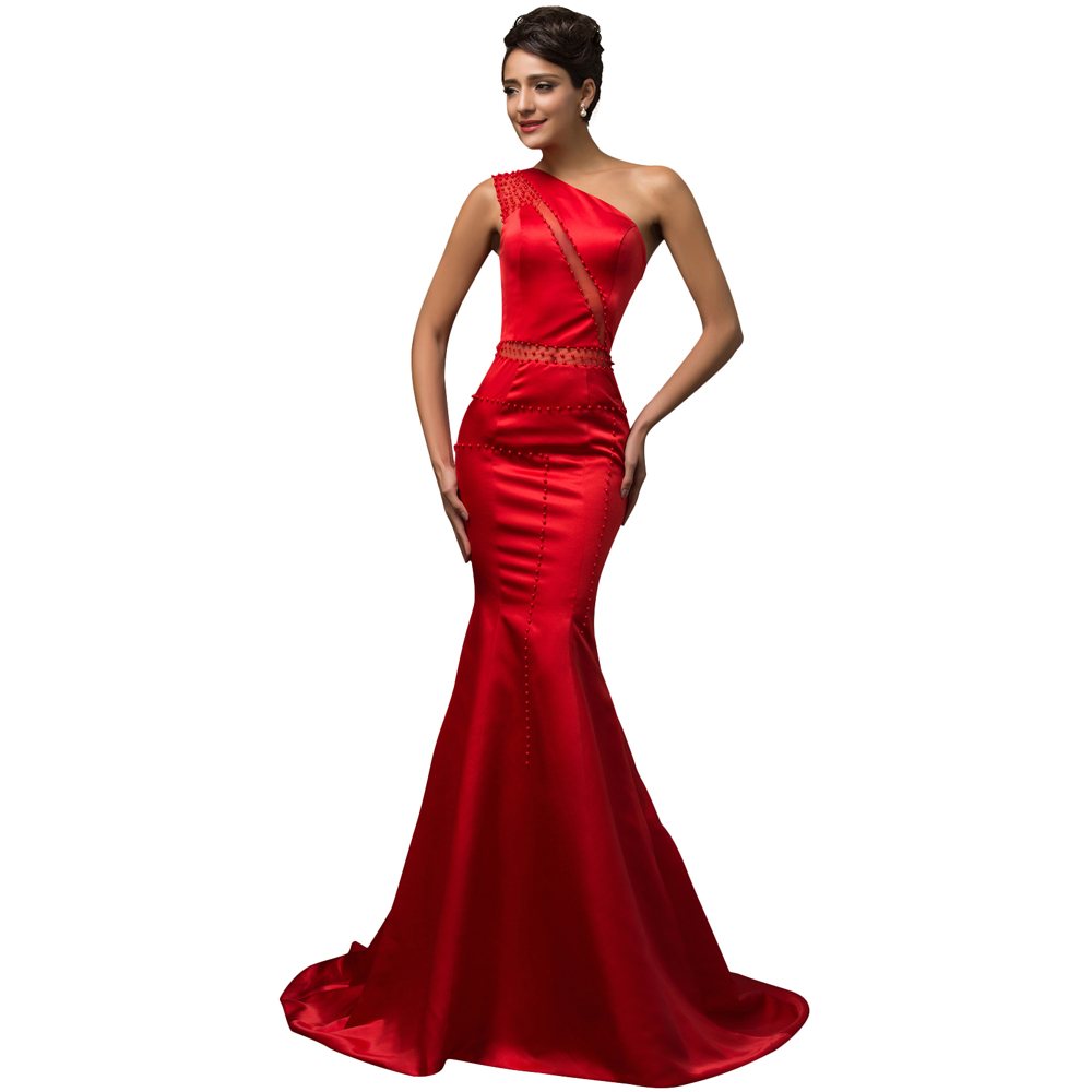 Long Silk Red Dress & Show Your Elegance In 2017