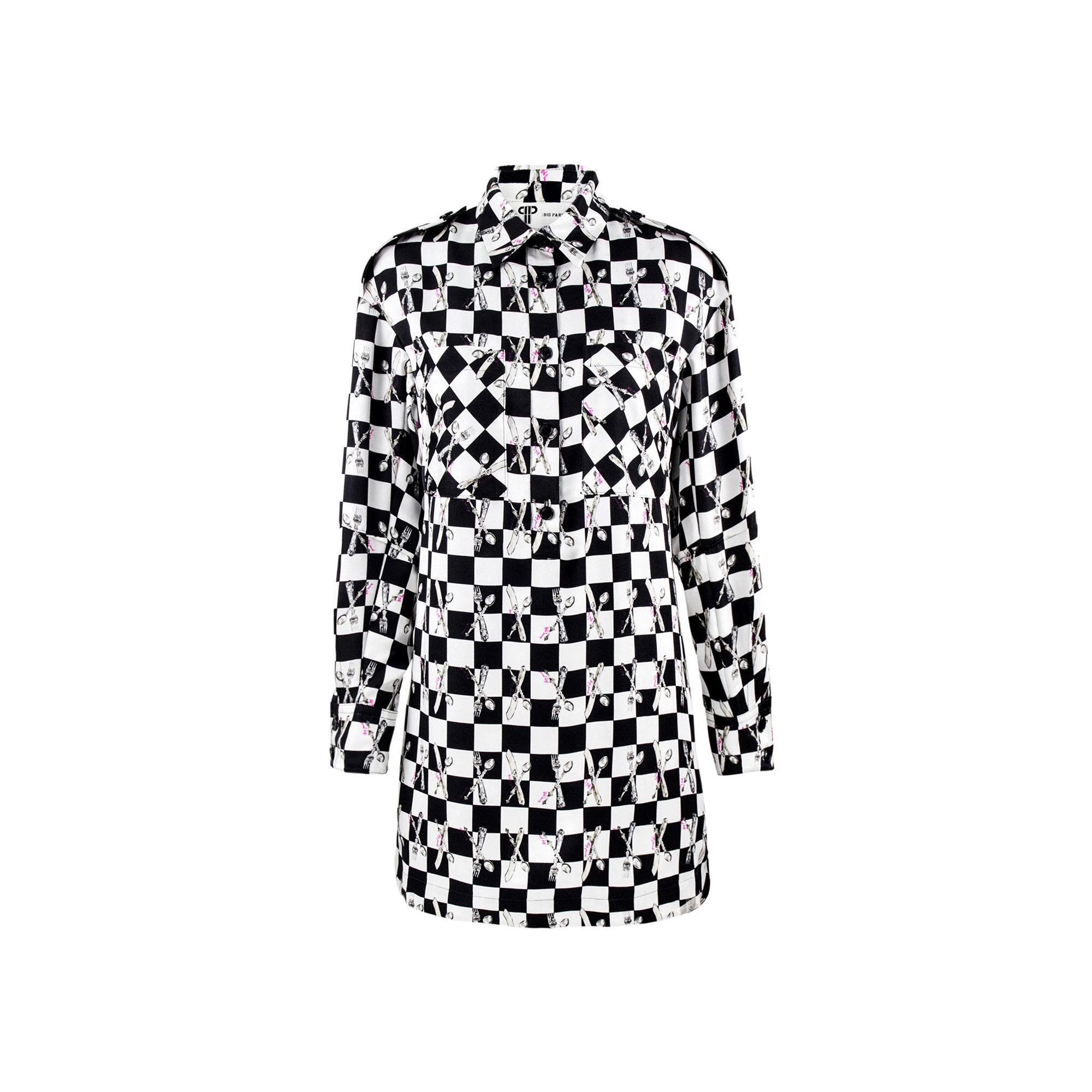 Long Silk Shirt Dress - Always In Vogue 2017