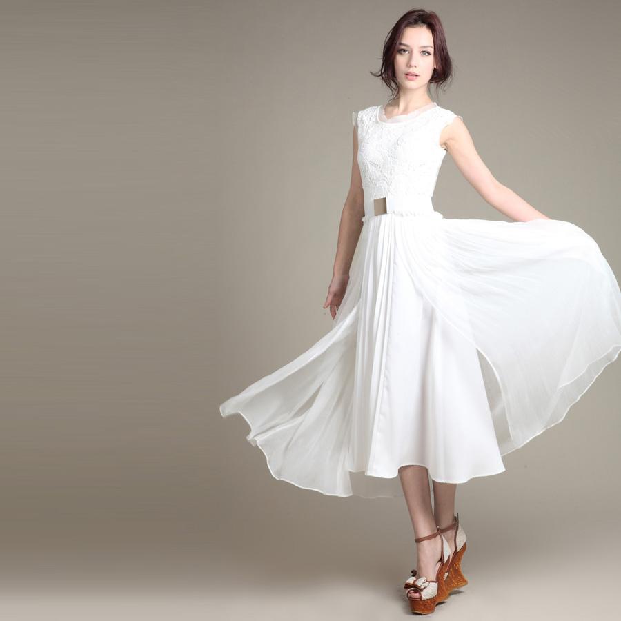 Long Single Piece Dress : Fashion Week Collections