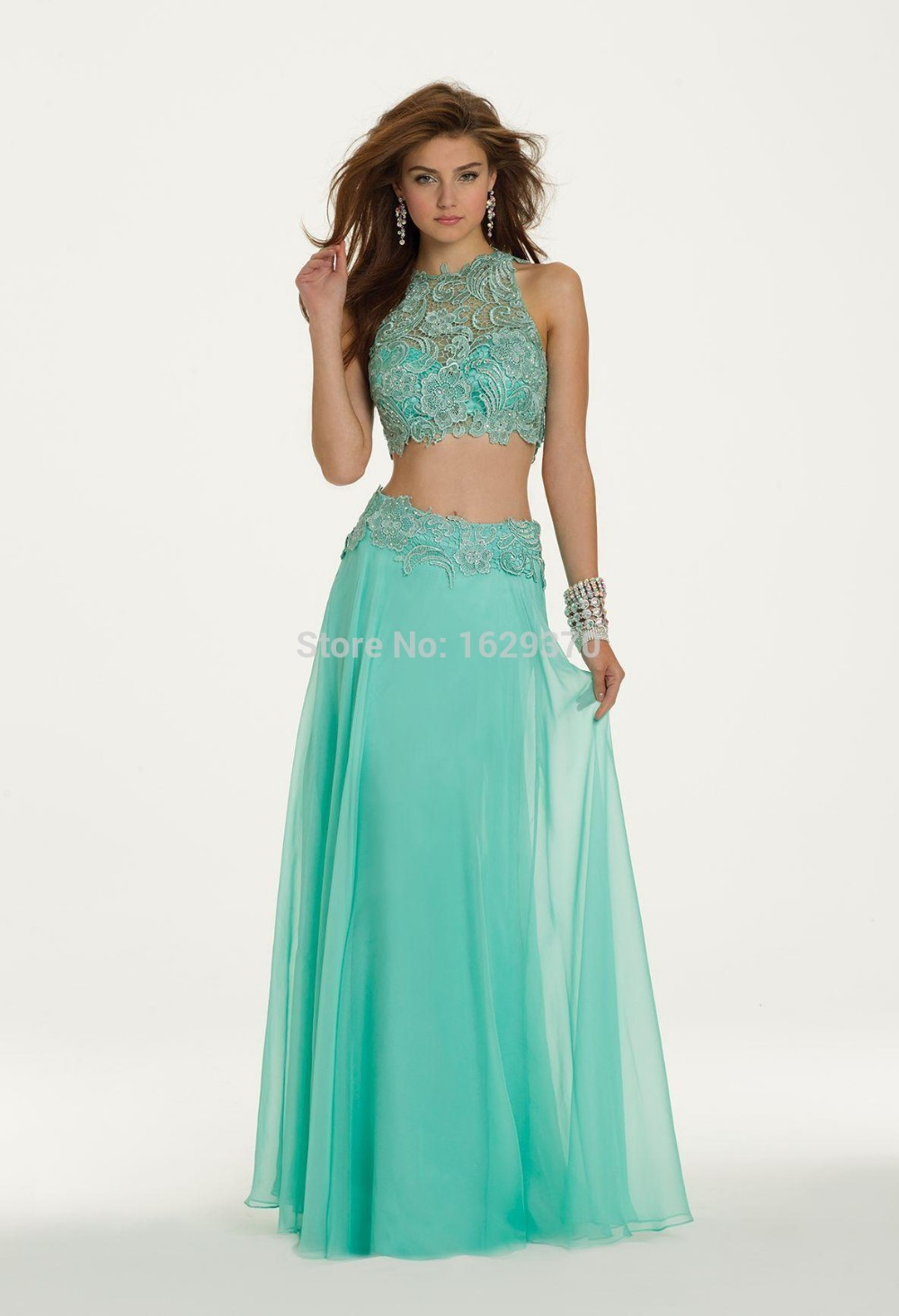 Long Two Piece Formal Dresses - Fashion Show Collection