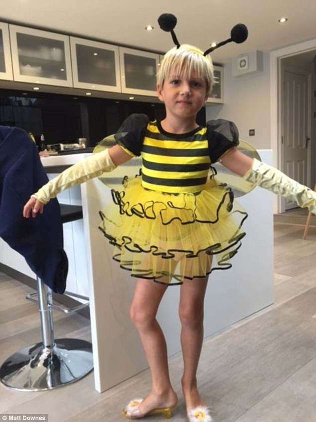 Mom Dresses Boy As A Girl And Perfect Choices