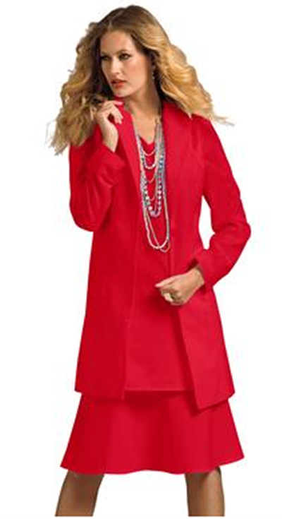 Plus Size Dress And Jacket Set And How To Look Good