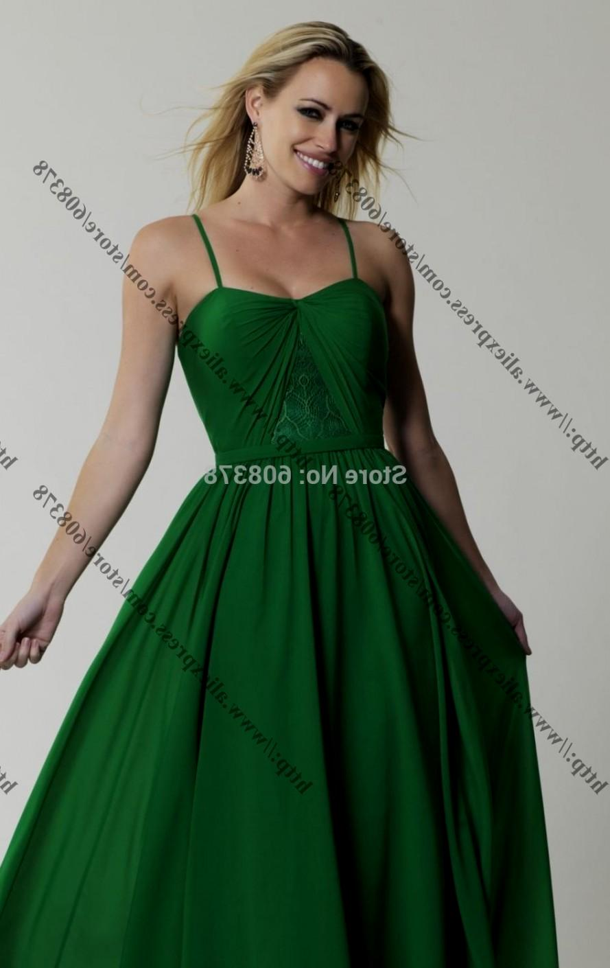 Plus Size Green Lace Dress : Make You Look Thinner