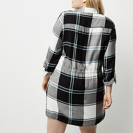 River Island Check Dress & How To Get Attention