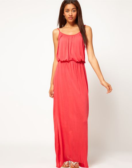 River Island Red Maxi Dress : Different Occasions