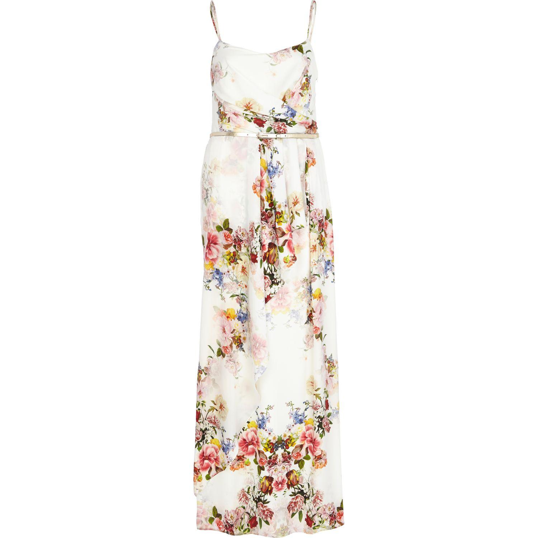 River Island White Maxi Dress : For Beautiful Ladies