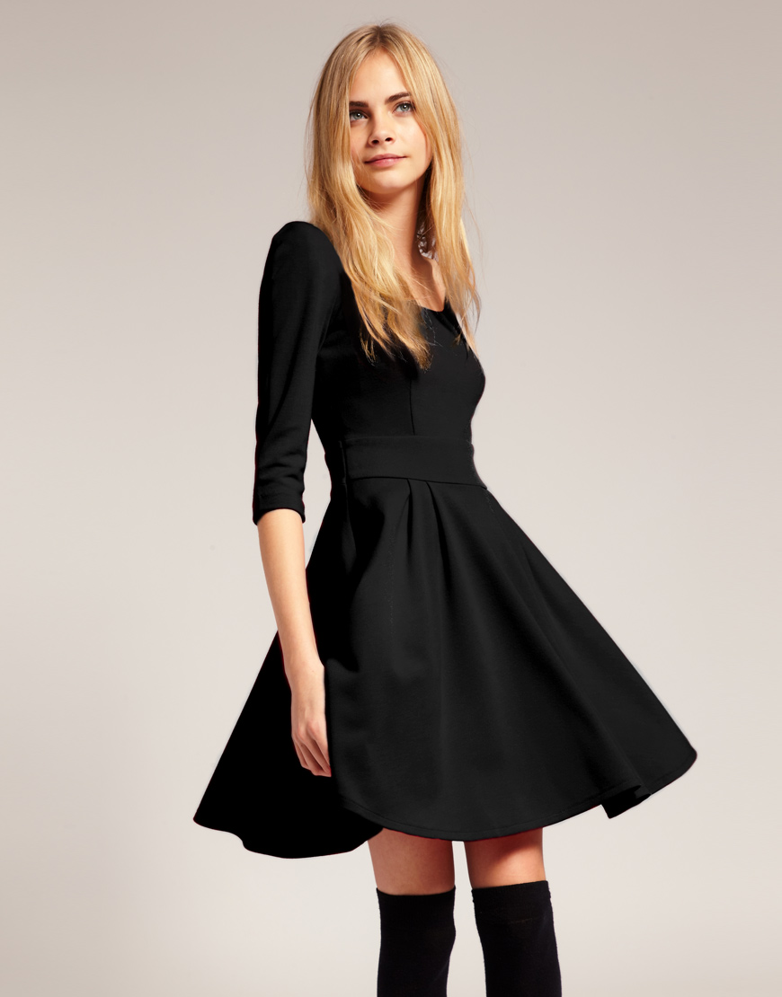 Short Dresses That Flare Out & Trend 2017-2018