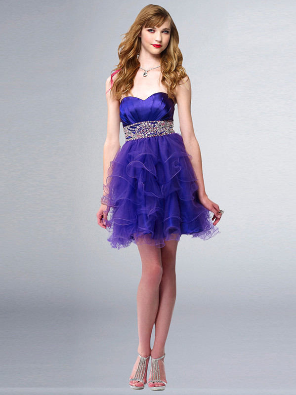 Teen Girls In Short Dresses Fashion Week Collections