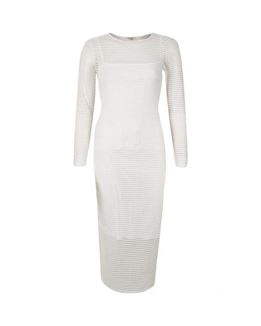 White Bodycon Dress River Island And Oscar Fashion Review