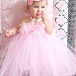 1 year old birthday dress for baby girl
